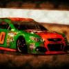 Danica Patrick racing in Richmond