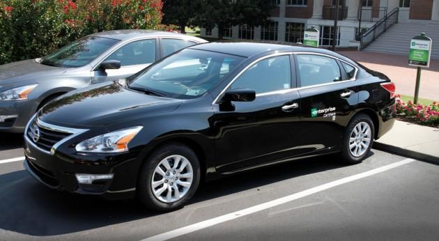 Enterprise CarShare Nissan Vehicle