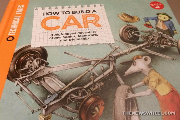 How to Build a Car Children's Book by Martin Sodomka cover