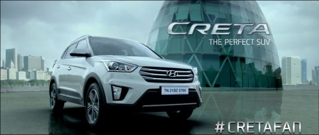 Hyundai Creta to Appear in New Shah Rukh Khan Film Fan (c)