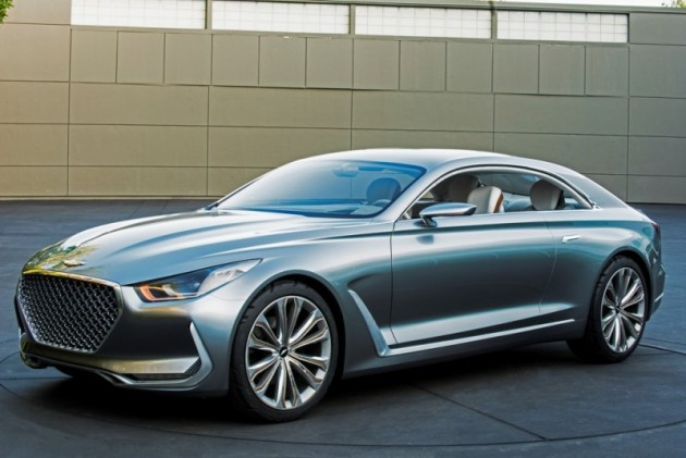 Hyundai Vision G Coupe Concept front