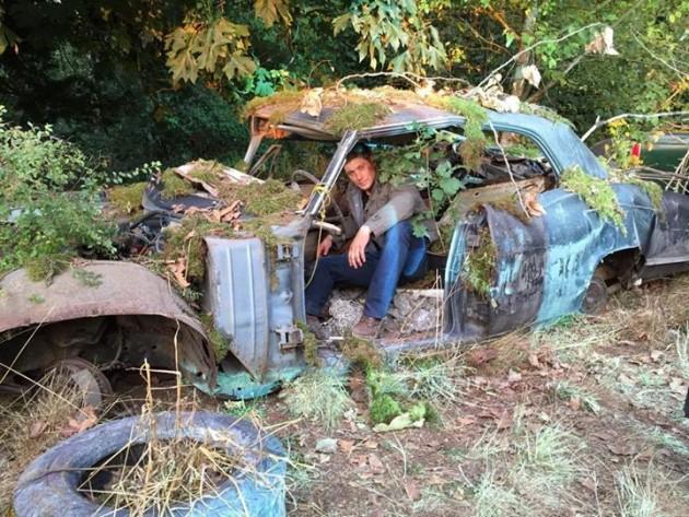 Jensen Ackles Supernatural Impala
