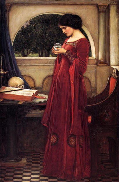 John William Waterhouse's The Crystal Ball