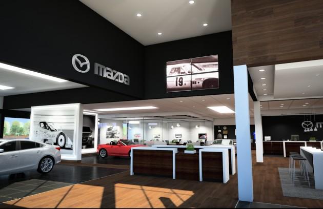 Mazda Retail Evolution design interior