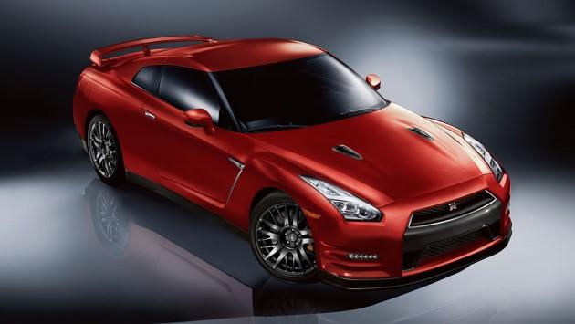 Nissan GT-R front oblique