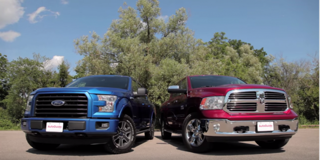 Ram EcoDiesel and Ford EcoBoost Comparison