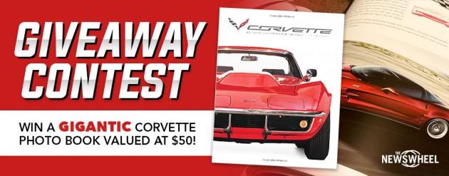 News Wheel Corvette Photo Book Giveaway Contest Banner