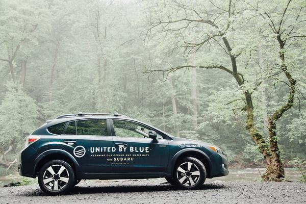 Subaru's United By Blue vehicle