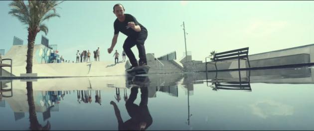 Lexus hoverboard water