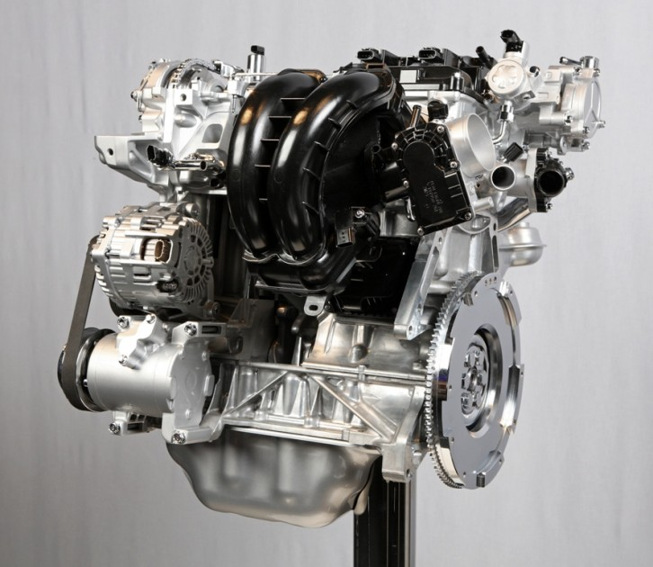 2016 Mazda CX-3 SKYACTIV-G Powertrain