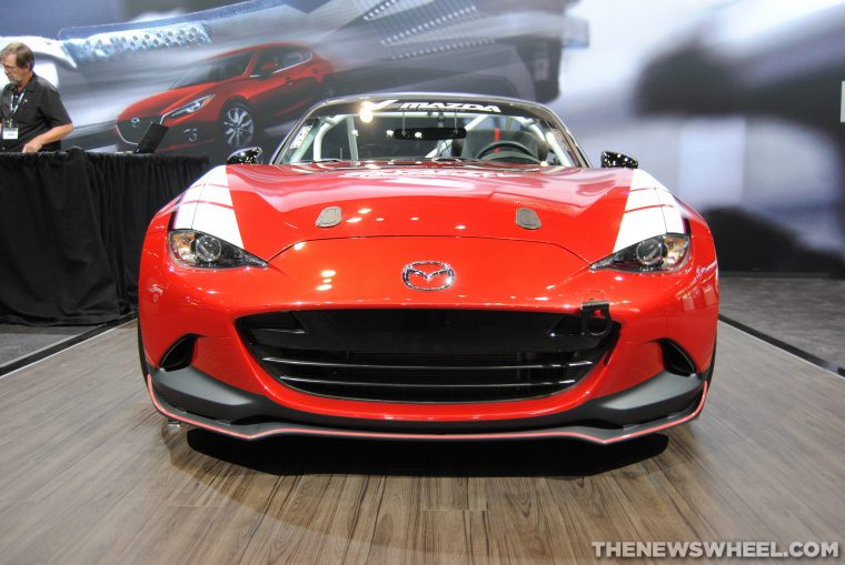 2016 Mazda MX-5 Racing Cup Model