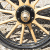 1905 Woods Queen Victoria Brougham wheels
