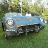 This '54 Corvette was one of only 300 produced with a Pennant Blue paint job