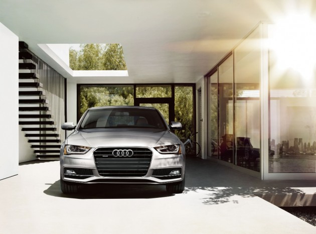 The 2016 Audi A4 comes with a Singleframe® grille