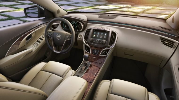 The 2016 Buick LaCrosse features  4-way adjustable head restraints