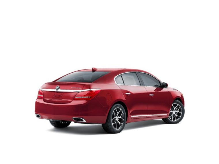 The 2016 Buick LaCrosse comes available with 20-inch machine-faced Silver painted alloy wheels