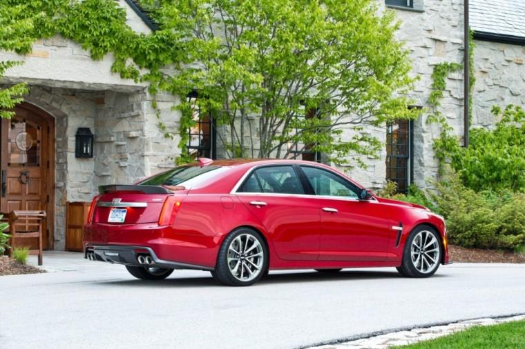 The 2016 Cadillac CTS-V sedan has a MSRP of $83,995