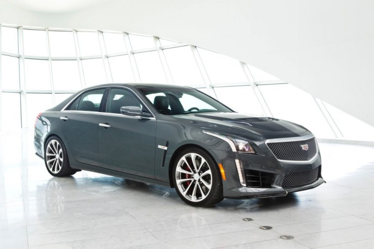 The new Cadillac CTS-V sedan is capable of 640 hp and 200mph