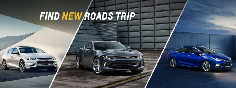 2016 Chevrolet Find New Roads Trip Camaro Volt Cruze