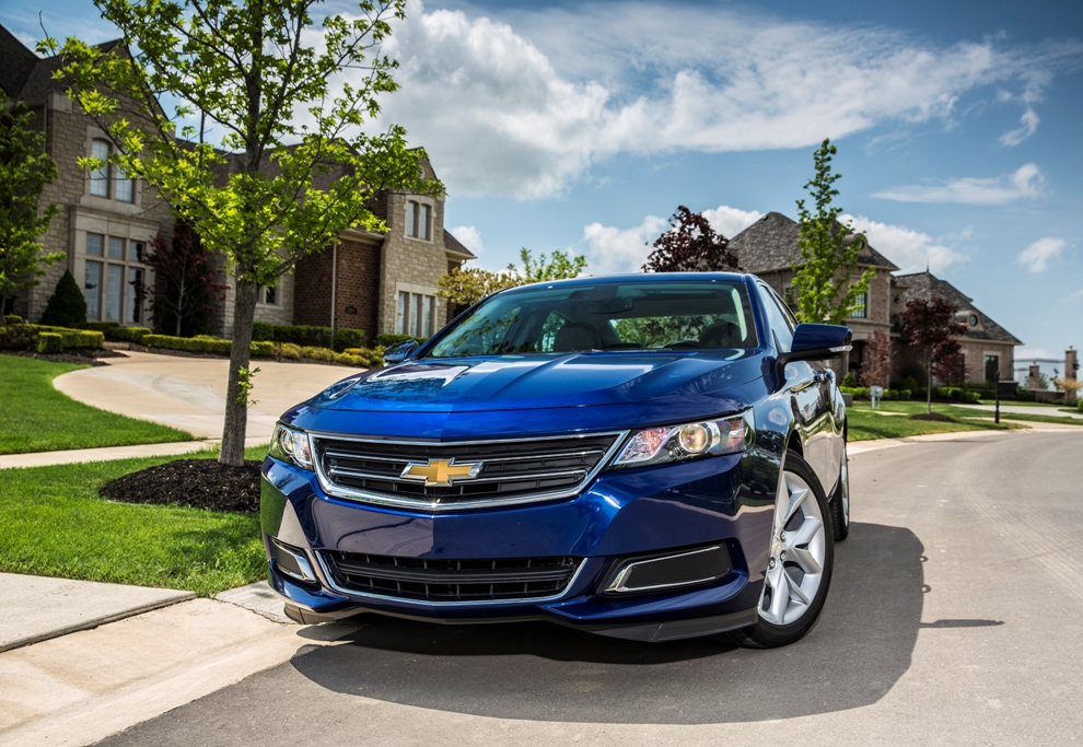 2016 Chevrolet Impala Overview - The News Wheel