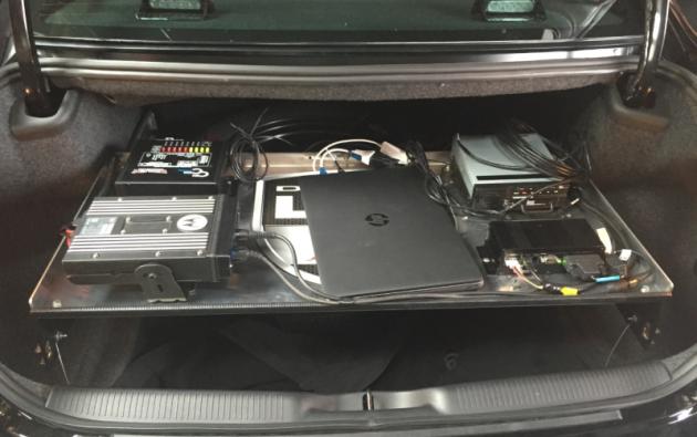 2016 Dodge Charger Pursuit Computer Shelf
