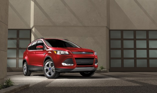 The Ford Escape is new for 2016