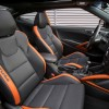 2016 Hyundai Veloster Turbo Orange interior