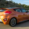 2016 Hyundai Veloster Turbo Orange rear