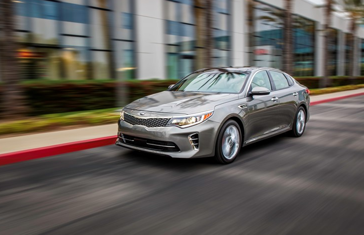 2016 Kia Optima Sxl Driving