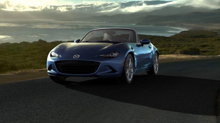 2016 Mazda MX-5 Blue Reflex