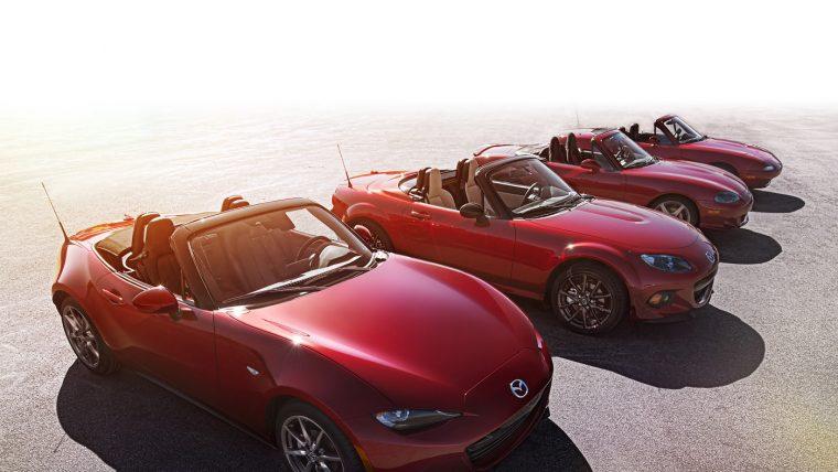 2016 Mazda MX-5 lineup