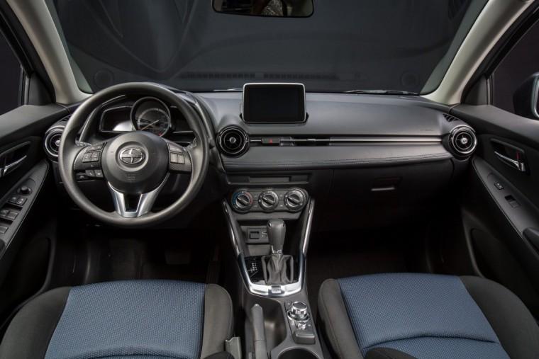 2016 Scion iA interior