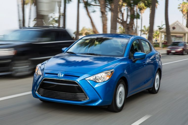 2016 Scion iA transition to toyota