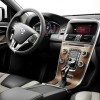 The 2016 Volvo XC60 features a steering wheel with audio controls.