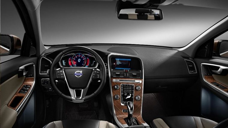The 2016 Volvo XC60 features many unique interior features