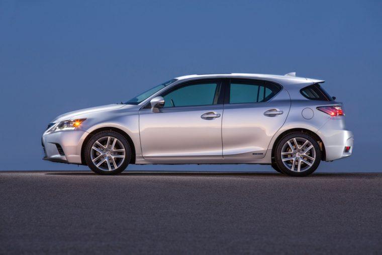 2016 Lexus Ct Hybrid Exterior