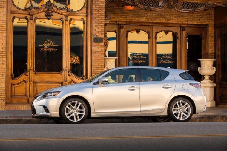 2016 Lexus CT Hybrid parked