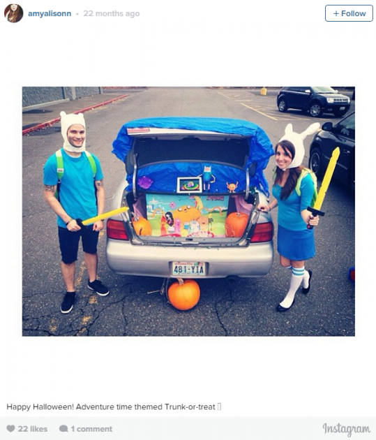 Adventure Time trunk or treat