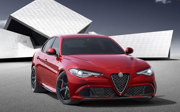 The Alfa Romeo Giulia will feature a twin-turbo 3.-liter V6 engine good for 510 hp and 442 lb-ft of torque