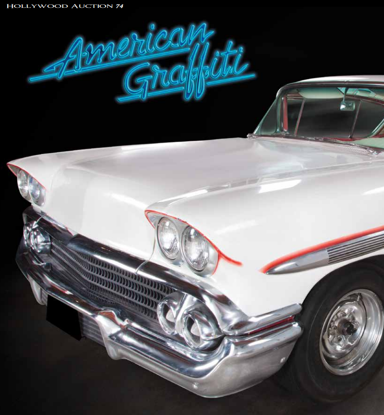 American Graffiti 1958 Impala Goes To Auction
