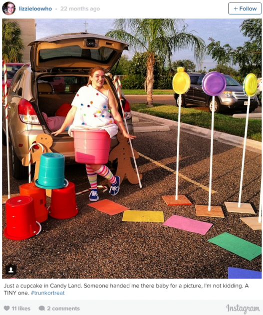 Candyland trunk or treat