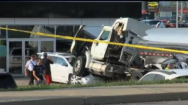 Crash Milk Truck