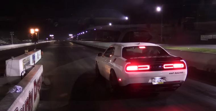 Dodge Challenger Hellcat Breaks Quarter Mile Record