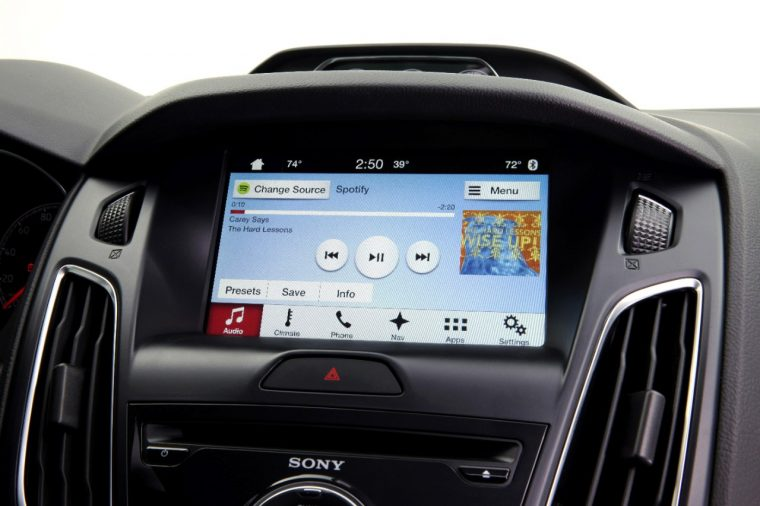 Ford SYNC 3 Console