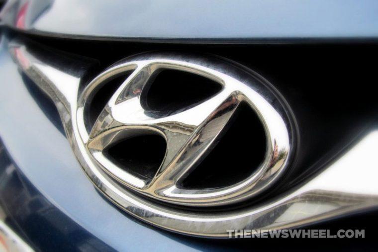 Hyundai logo badge emblem