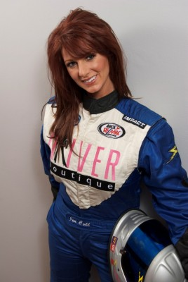 Jennifer Jo Cobb was penalized for breaking NASCAR's cell phone rule.