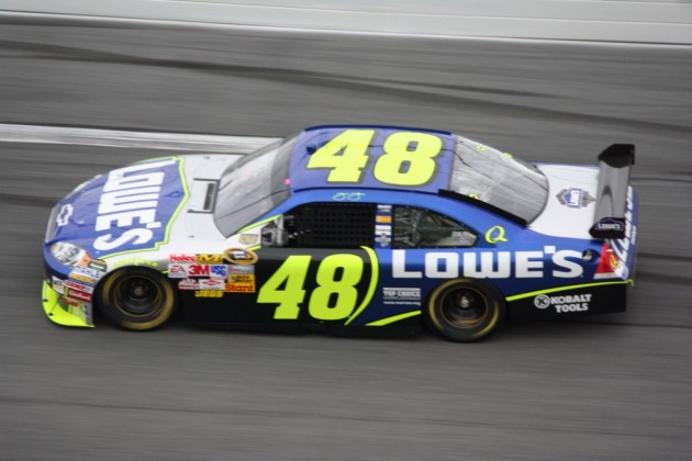 Jimmie Johnson signed a two-year extension with Hendrick Motorsports.