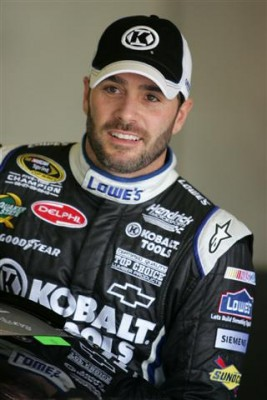 Jimmie Johnson is one championship away from tying Richard Petty and Dale Earnhardt Sr.