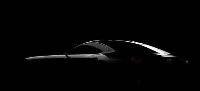 Mazda sports car teaser image