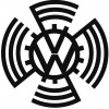 Original VW logo fan
